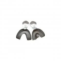 Porte-empreinte métal chromé