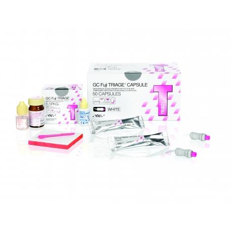 Coffret Fuji Triage - liquide, poudre et dentin conditioner